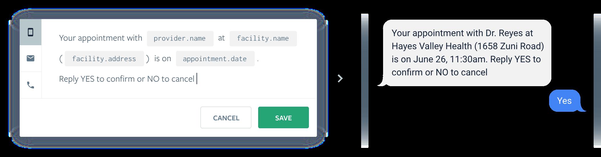 Luma Health - Intelligent Scheduling - Mobile Patient Communication