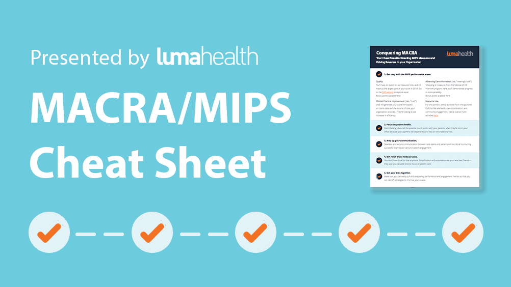 Get Our Cheat Sheet For Value-Based Payment Programs