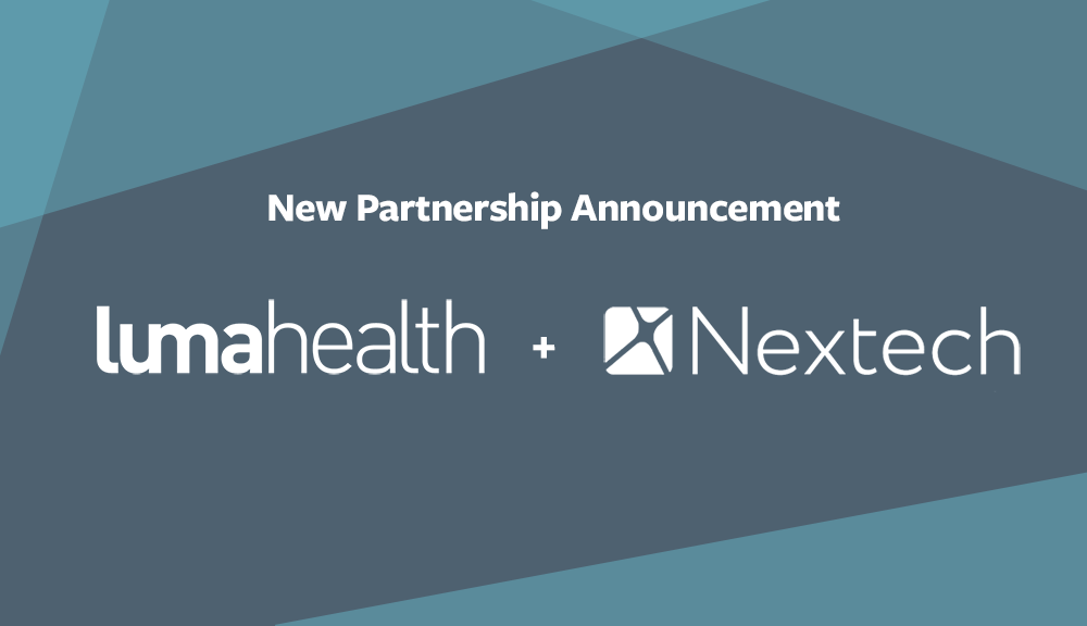 Luma Health - Luma Health and Nextech Systems Announce Partnership